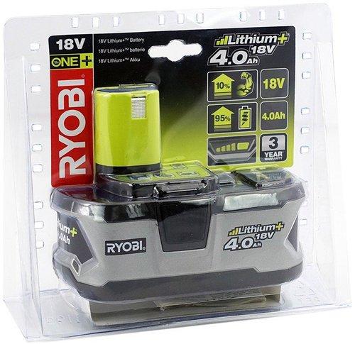 Ryobi RB18L40 18V 4,0 Ah Li-Ion Akku