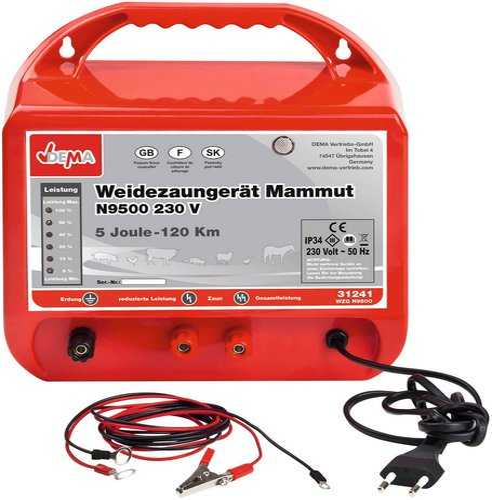 Dema Weidezaungerät Mammut N9500 (31241)