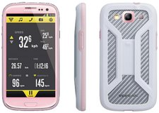 Topeak RideCase mit Halter pink (Galaxy S3)
