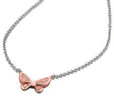 Lotus Schmetterlingkette bicolor rosé (LS1529-1/3)