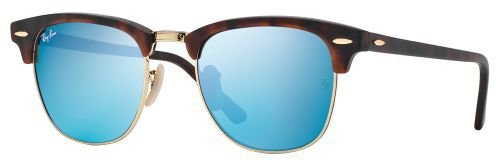 Ray Ban Clubmaster RB3016 114517 (sand havana gold/grey-mirrow green)