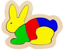 goki Einlegepuzzle Hase