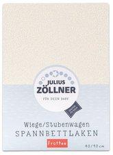 Zöllner Spannbettuch Frottee ecru (40 x 90)