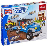 Mega Bloks World Builders - Jeep Forest Expedition (97806)