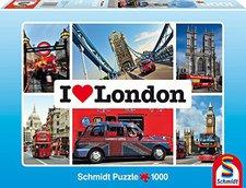Schmidt Spiele I love London (1000 Teile)