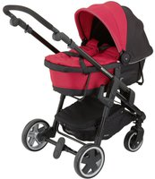 Kiddy click'n move3 Babywanne cranberry