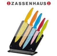Zassenhaus Messerblock Acryl Food 6 tlg. (bunt)