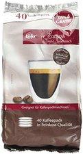 Käfer Caffè Exquisit, mild & aromatisch (36 Stk.)