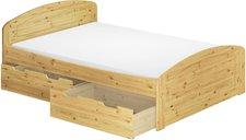 Erst-Holz 60.50-16 MB Bett Kiefer (160 x 200 cm)