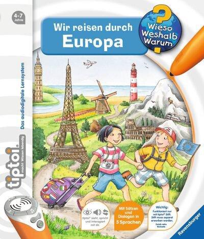 Ravensburger tiptoi - Wir reisen durch Europa
