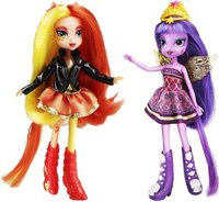 Hasbro My Little Pony Equestria Girls - Sunset Shimmer & Twilight Sparkle