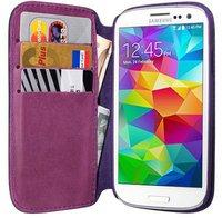 PEDEA Bookstyle Case lila (Galaxy S5)