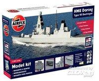 Airfix HMS Daring: Type 45 Destroyer Gift Set (50132)