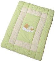 Easy Baby Krabbeldecke Sleeping Bear grün (100x135)