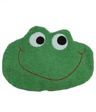 Smithy Kinder-Kirschkernkissen Frosch Grün