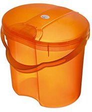 Rotho-Babydesign Windeleimer TOP Translucent Orange