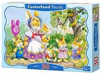 Castorland Hasen Familie (30 Teile)