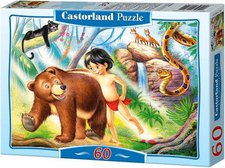 Castorland Das Dschungelbuch (60 Teile)