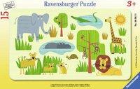 Ravensburger Lustige Afrikatiere (15 Teile)