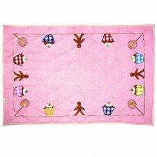 Win Green Gingerbread Cottage - Floor Quilt