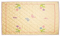 Win Green Butterfly Cottage - Floor Quilt