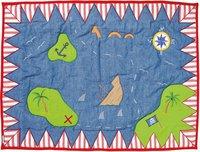 Win Green Spielhaus Pirat - Floor Quilt