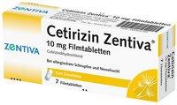 Winthrop Cetirizin Zentiva 10 mg Filmtabletten (7 Stk.)