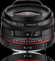 Pentax HD DA 15mm f4 ED AL Limited (schwarz)
