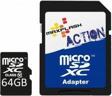 Maxflash Action microSDXC 64GB Class 10 (SD64GTFCL10M-R)