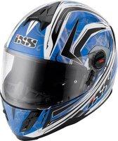 IXS HX 397 Blaze blau/schwarz/weiß