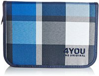 4You Etui XL Squares Blue