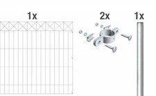 GAH Nexus Metall-Zaun-Anbauset BxH: 2 x 1 m