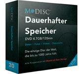 Millenniata DVD+R M-Disc 4,7GB 120min 4x 20er Box