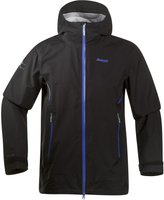 Bergans Airojohka Jacket Men Black / Warm Cobalt / Lime Zest