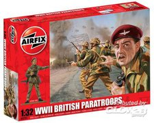 Airfix WWII British Paratroops (A02701)