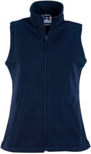 Russell Ladies' Soft Shell Gilet French Navy