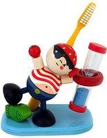 Hess Spielzeug Zahnputzuhr Pirat