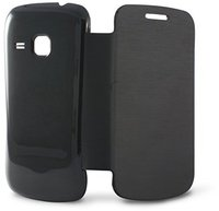 Ksix mobile tech Cover Flip (Galaxy Ace 2) Black