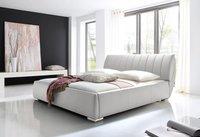 Meise Möbel Polsterbett Luna weiß 180x200 cm