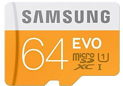 Samsung microSDXC EVO 64GB Class 10 UHS-I (MB-MP64D/EU)