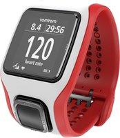 TomTom Runner GPS-Uhr weiß rot schwarz