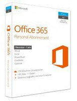 Microsoft MS Office 365 Personal (2 User) (Win/Mac) (DE) (PKC)