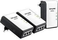 TP-Link AV500-Powerline-Adapter Triple KIT mit 3 LAN-Ports