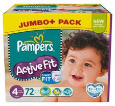 Pampers Active Fit Maxi Plus (9-20 kg)