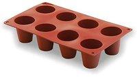 Lacor Backform 8 große zylinderförmige Mulden