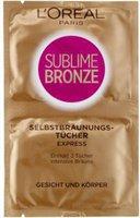 Loreal Sublime Bronze Selbstbräunungstücher Express (2 x 5,6 ml)