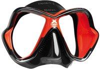 Mares X-Vision Liquidskin rot schwarz