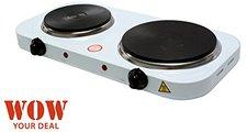 WOW! Design Doppel-Kochplatte 2500 W