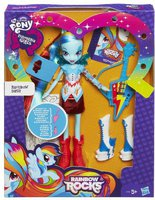 Hasbro My Little Pony Equestria Girls Rainbow Rocks Rainbow Dash with Guitar