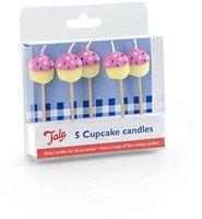GEH Cupcake Candles X5